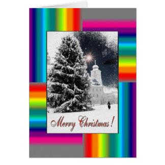 Christmas Greetingcard with 2011 Calendar Card