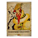 Christmas Greetings 1928 Cards