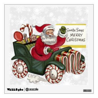 Christmas Greetings 1 Wall Decals