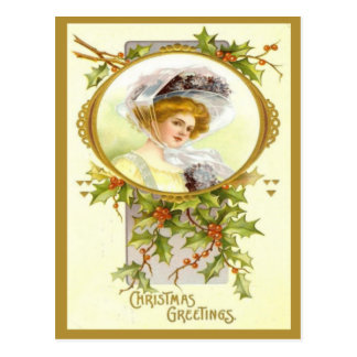 Christmas Greetings 2 Postcard