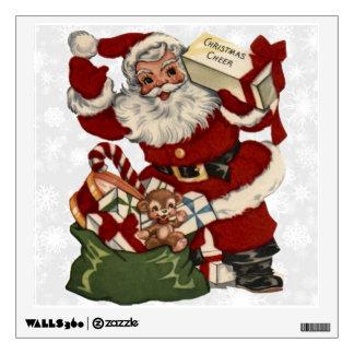 Christmas Greetings 2 Room Decal