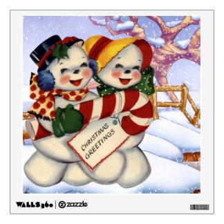 Christmas Greetings 3 Wall Sticker