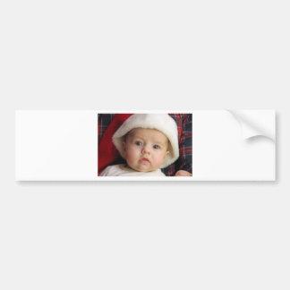 Christmas greetings bumper sticker