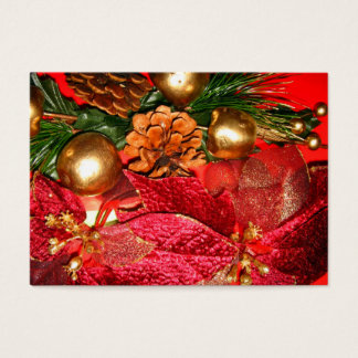 Christmas Greetings_ Business Card