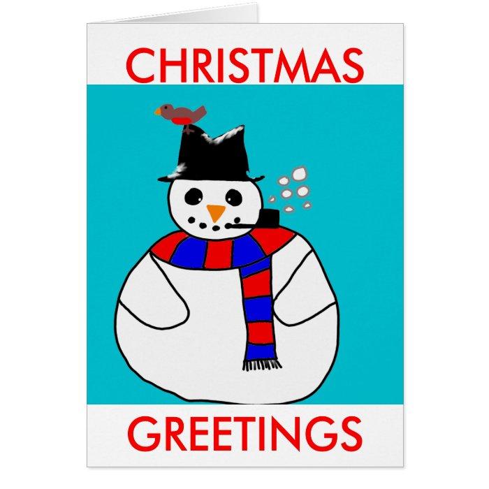 CHRISTMAS, GREETINGS CARD