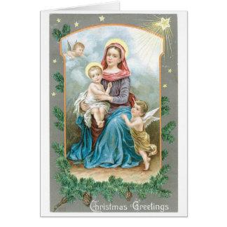 Christmas Greetings Custom Greeting Card