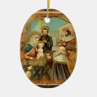 Christmas Greetings Custom Ornament