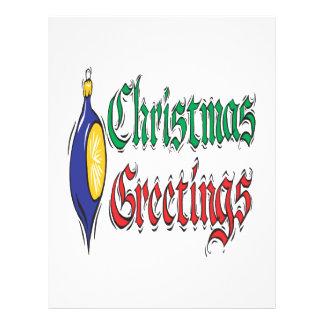 Christmas Greetings Flyer
