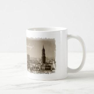 Christmas greetings from Hamburg, Christmas card,  Coffee Mug