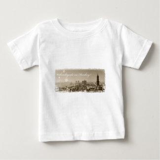 Christmas greetings from Hamburg, Christmas card,  Infant T-shirt