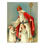 Christmas Greetings from St. Nicholas Post Card