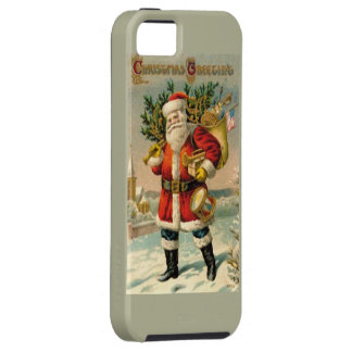 Christmas Greetings iPhone SE/5/5s Case