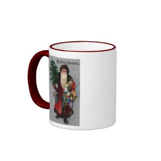 Christmas Greetings Coffee Mugs