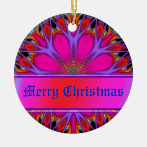 Christmas Greetings Personalised Gift Christmas Tree Ornaments