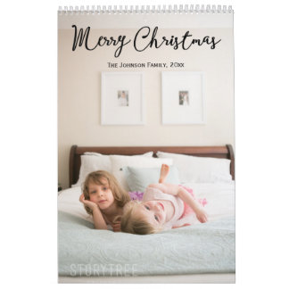 Christmas Greetings Personalized Calendars