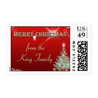 Christmas Greetings Postage