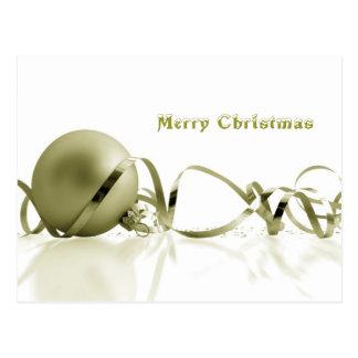 Christmas greetings postcard
