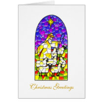 Christmas Greetings Shepherd Card