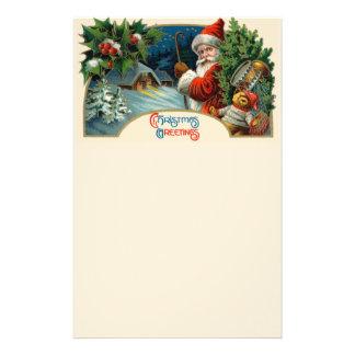 Christmas Greetings Stationery