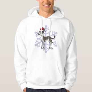 Christmas Greyhound / Whippet / Italian Greyhound Sweatshirts