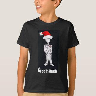 Christmas Groomsmen T-Shirt