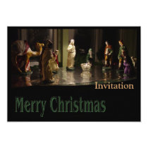Christmas Group color Invitation