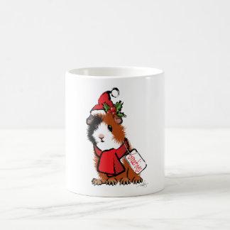 Christmas Guinea Pig Greeting Coffee Mug