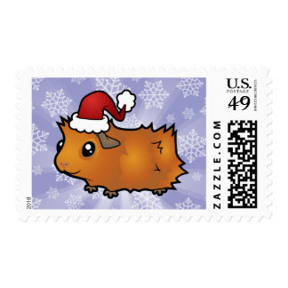 Christmas Guinea Pig (scruffy) Postage