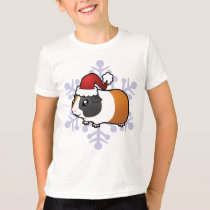 Christmas Guinea Pig (smooth hair) T-Shirt