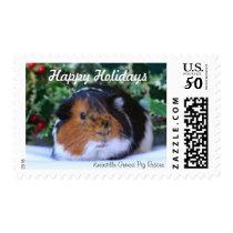 Christmas Guinea Pig Stamp