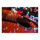 Christmas Guitar Card