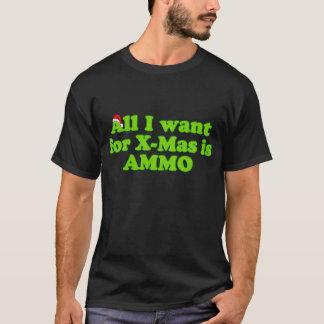 Christmas Gun Ammo Shirt