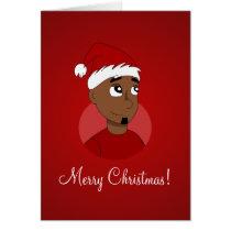 Christmas guy cartoon