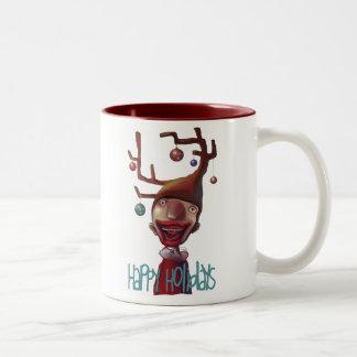 Christmas guy coffee mug
