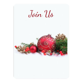 CHRISTMAS H0LIDAY EVENT INVITATION