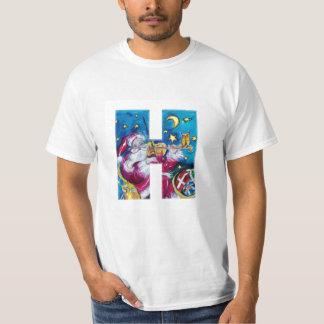 CHRISTMAS H LETTER / INSPIRED SANTA MONOGRAM T-Shirt