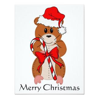 Christmas Hamster Card