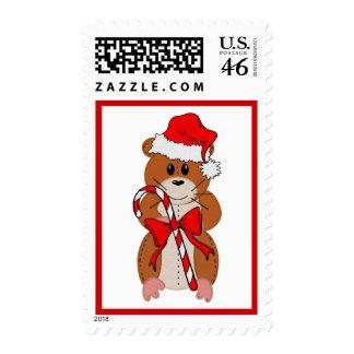 Christmas Hamster Stamps