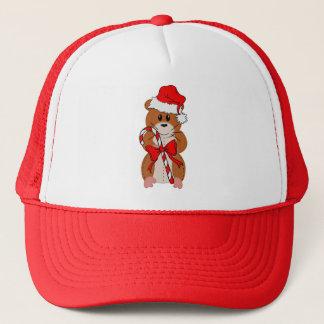 Christmas Hamster Trucker Hat