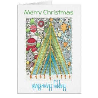 Christmas Hanukkah Card