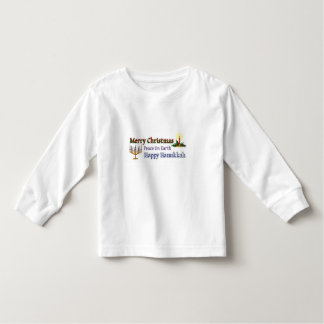 Christmas Hanukkah Toddler T-shirt