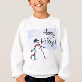 Christmas Happy Holiday Apparrel Sweatshirt by creativeconceptss at Zazzle