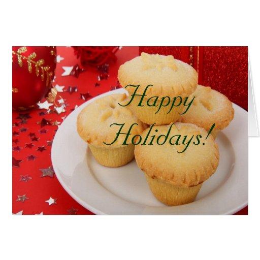 Christmas Happy Holidays Greeting Card
