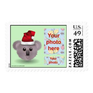 Christmas Happy Holidays Season s Greetings photo Stamps