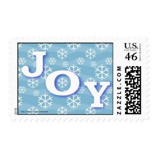 Christmas Happy Holidays Season's Greetings Joy Stamps
