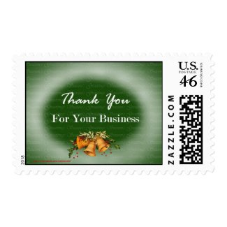 Christmas Happy Holidays to customers and clients Stamps