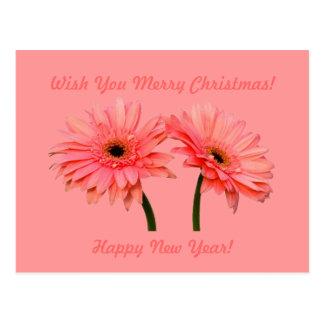Christmas & Happy New Year 2013 Postcard