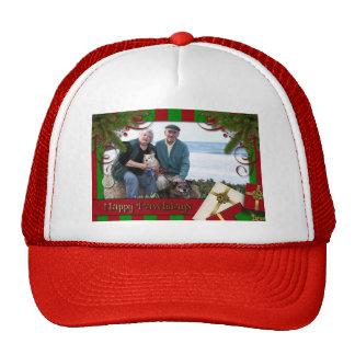 Christmas - Happy Pawlidays - Williams Photo 1 Mesh Hats