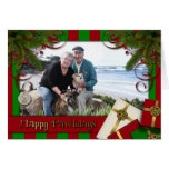 Christmas - Happy Pawlidays - Williams Photo 3 Greeting Card