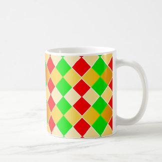 Christmas Harlequin Coffee Mug